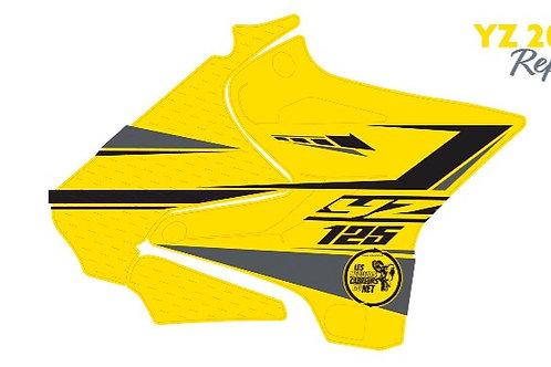 125/250 YZ noir et jaune 2020