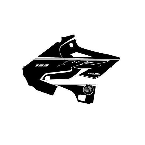 125-250 YZ 2021 noir