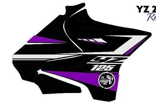 125/250 YZ violet et noir 2020