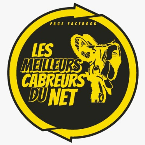 Stickers Noir Jaune