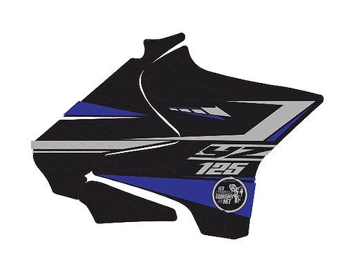 125/250 YZ noir et bleu 2020