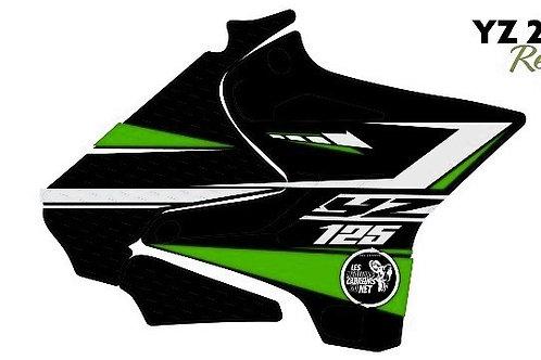 125/250 YZ vert et noir 2020