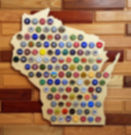 Bottle Cap State of WI