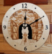 Elroy-Sparta Bike Trail Clock