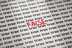 True or False Paper