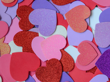 Make It And Take It: Marbled Hearts