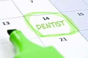 planning routine dental checkups