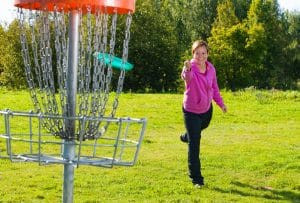 Have You Visited the New Disc Golf Course at Woodland Park in Columbia?