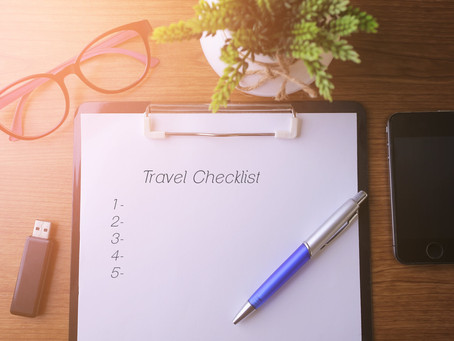 Your Travel List: Things You Need In Your Suitcase!