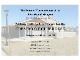 Celebrate the New Crestmont Clubhouse on April 19