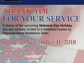 Veterans Breakfast on November 11