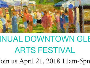 Fifth Annual Glenside Arts Fest to be Held April 21 at 11:00 am