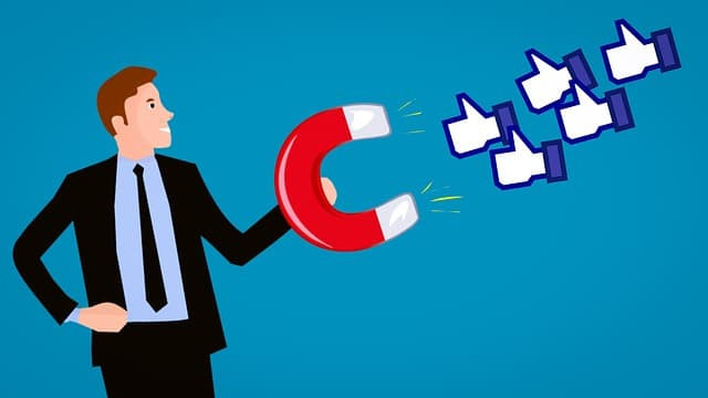 Attracting a social media presence