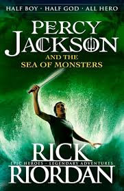 Percy Jackson and the Sea of Monsters; Rick Riordan 2013