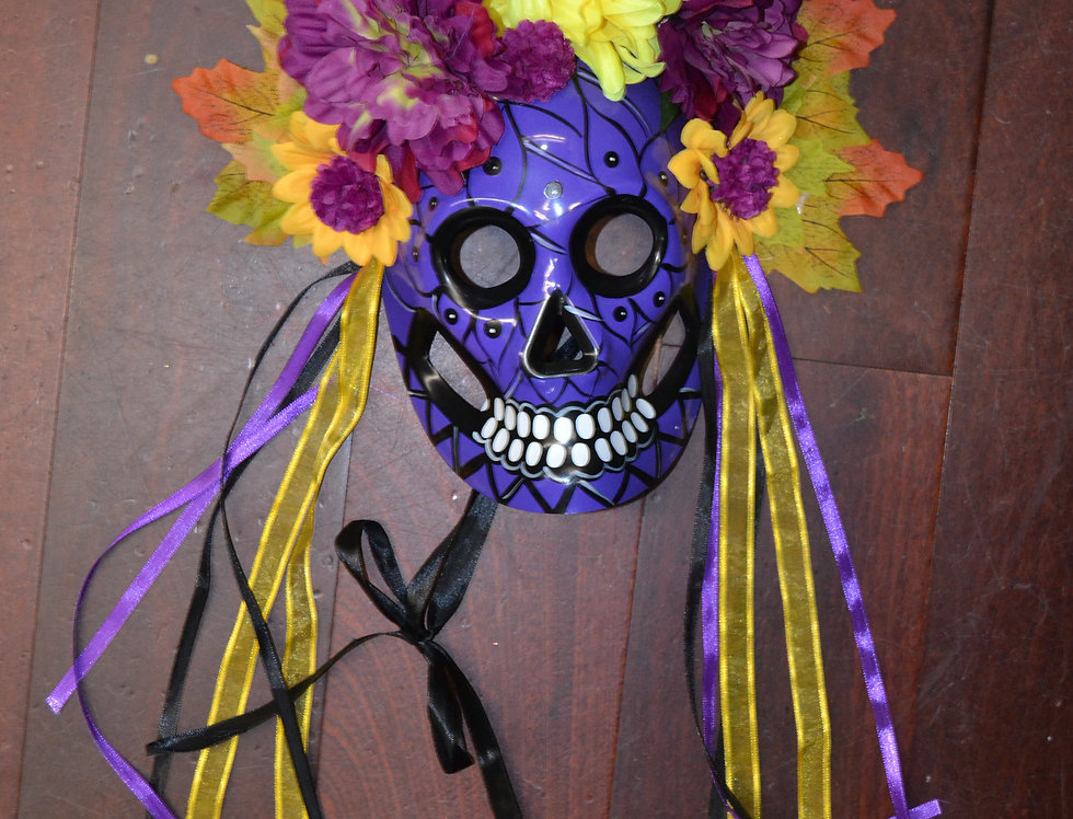 Dia De Las Meurtas Mask