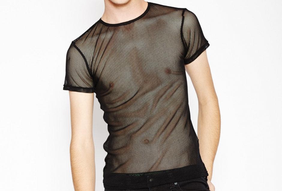 Mesh Shirt: Black