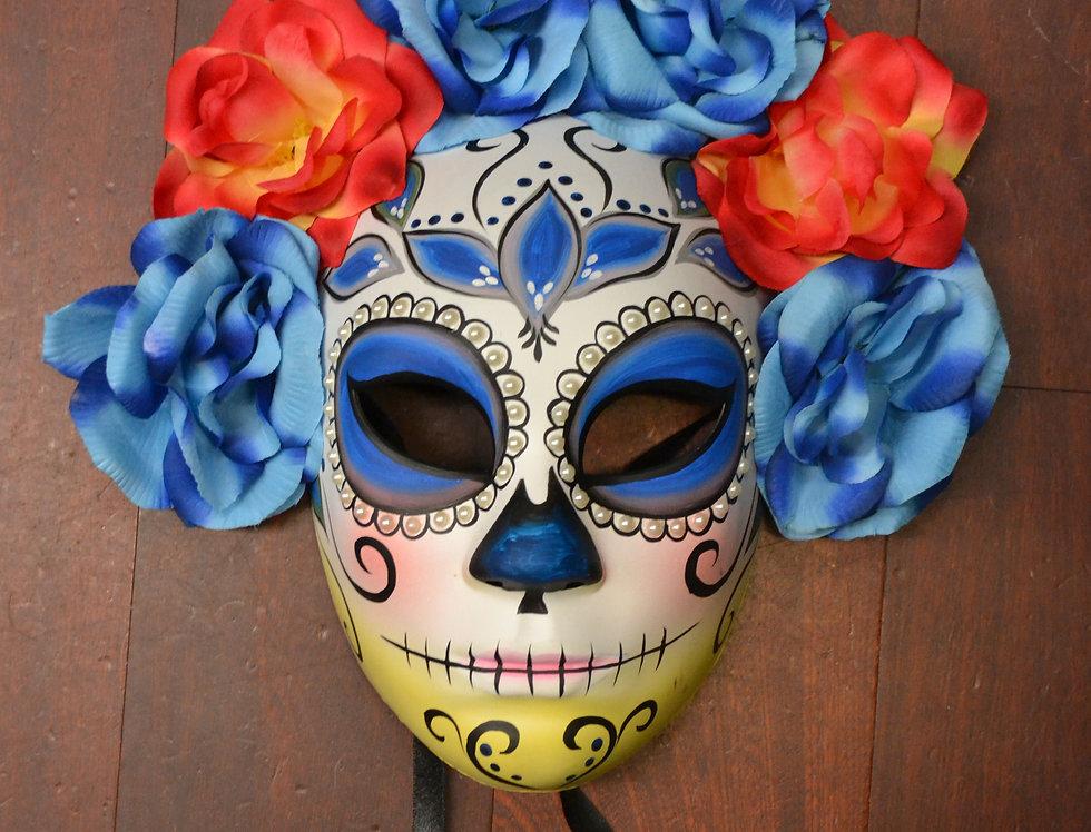 Dia Der Los Muertas Full  Womens Mask