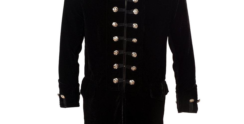Iconic 60's style Velvet Frock Coat