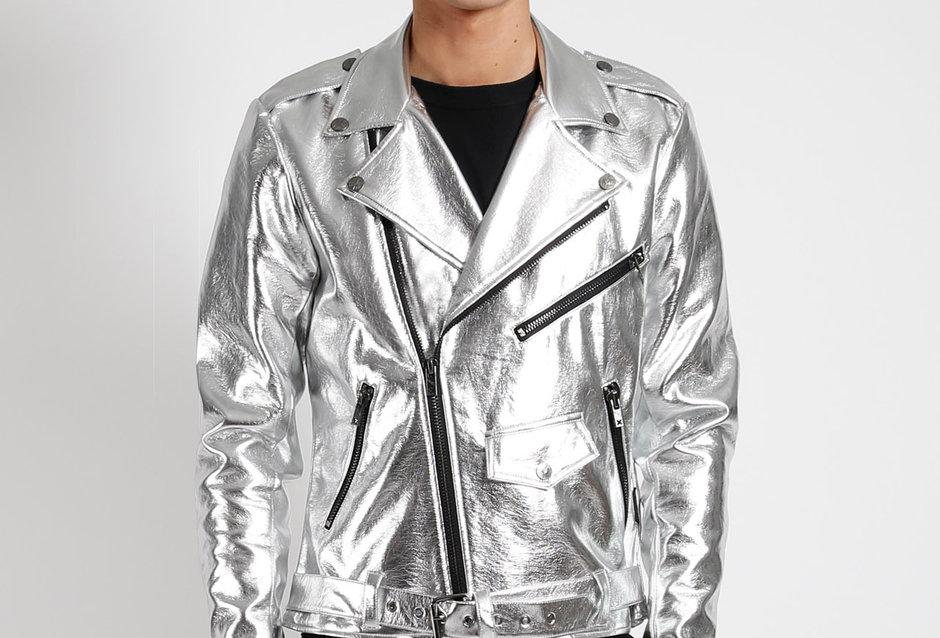 Tripp Silver  Mens Jacket