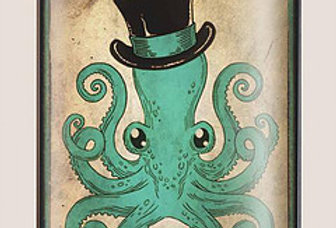 Octopus Gentleman Flask