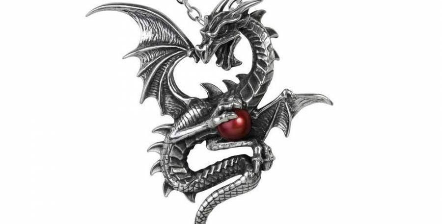 Alchemy Aethera Dragon Necklace