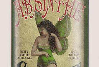 Green Fairy Flask