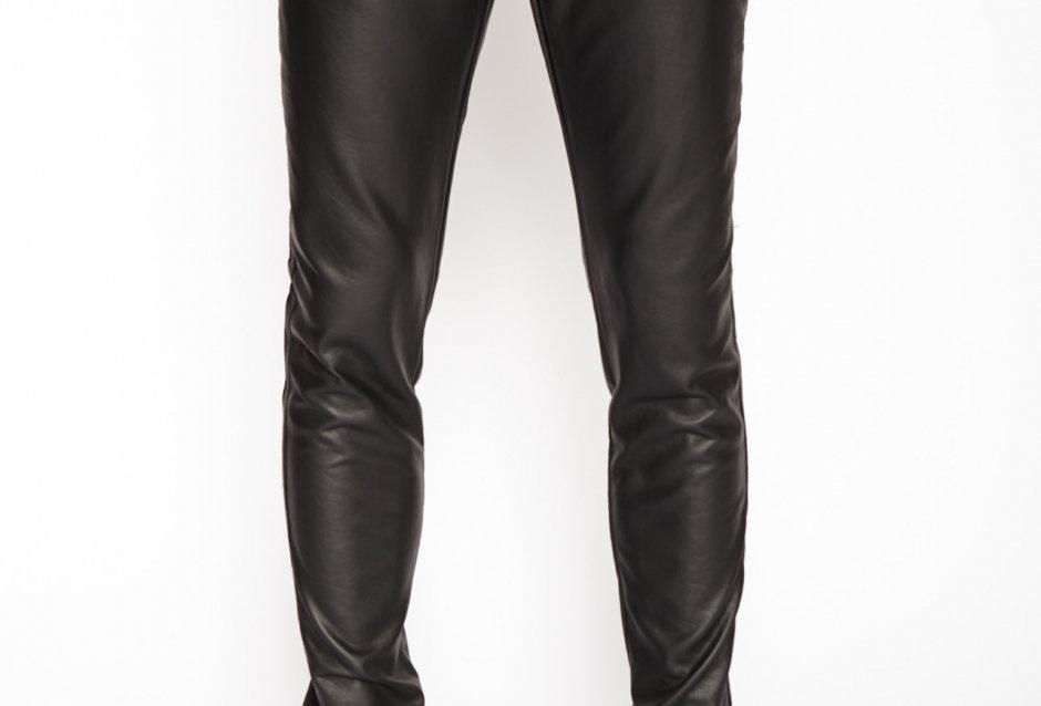 Tripp Faux Leather Mens Pant