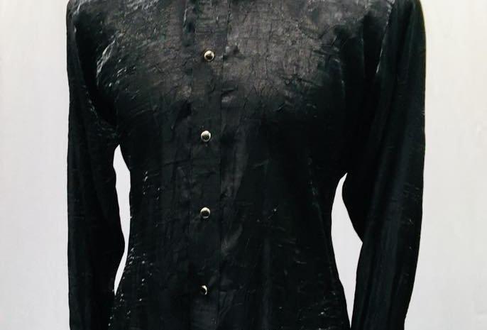 Black Shimmer Shirt