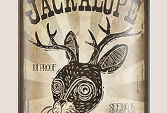 Jackalope Whisky Flask