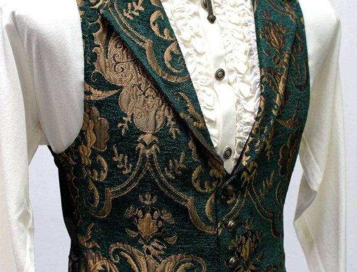 Green and Gold Shrine Vest