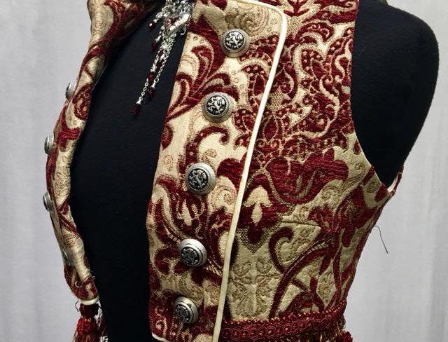Shrine Womens Tapestry Vest