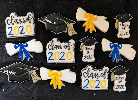 Graduation cookie set