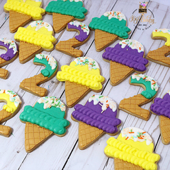 Ice cream theme cookies