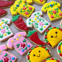 Fiesta theme cookies