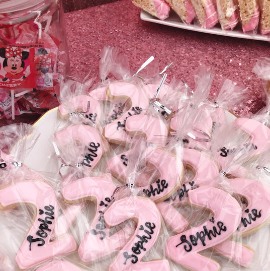 custom minnie mouse cookies