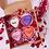 Thumbnail: Mini Conversation Heart Cakes