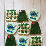 Lilo and stitch theme cookies