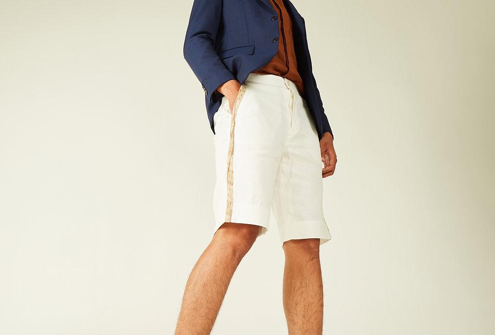 Men Linen Ulap Doyo Shorts