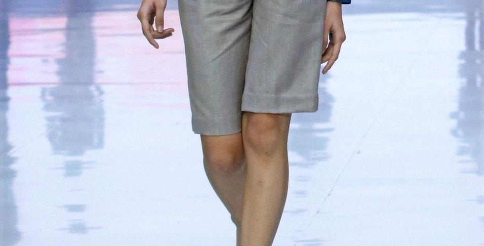 Linen Long Shorts