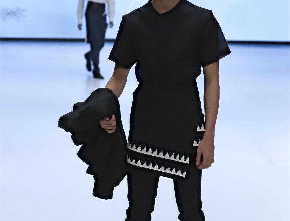Men Linen Short Sleeve Shirt