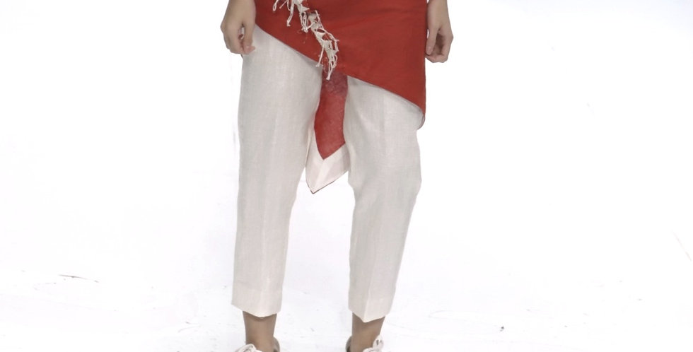 Linen Crop Pants