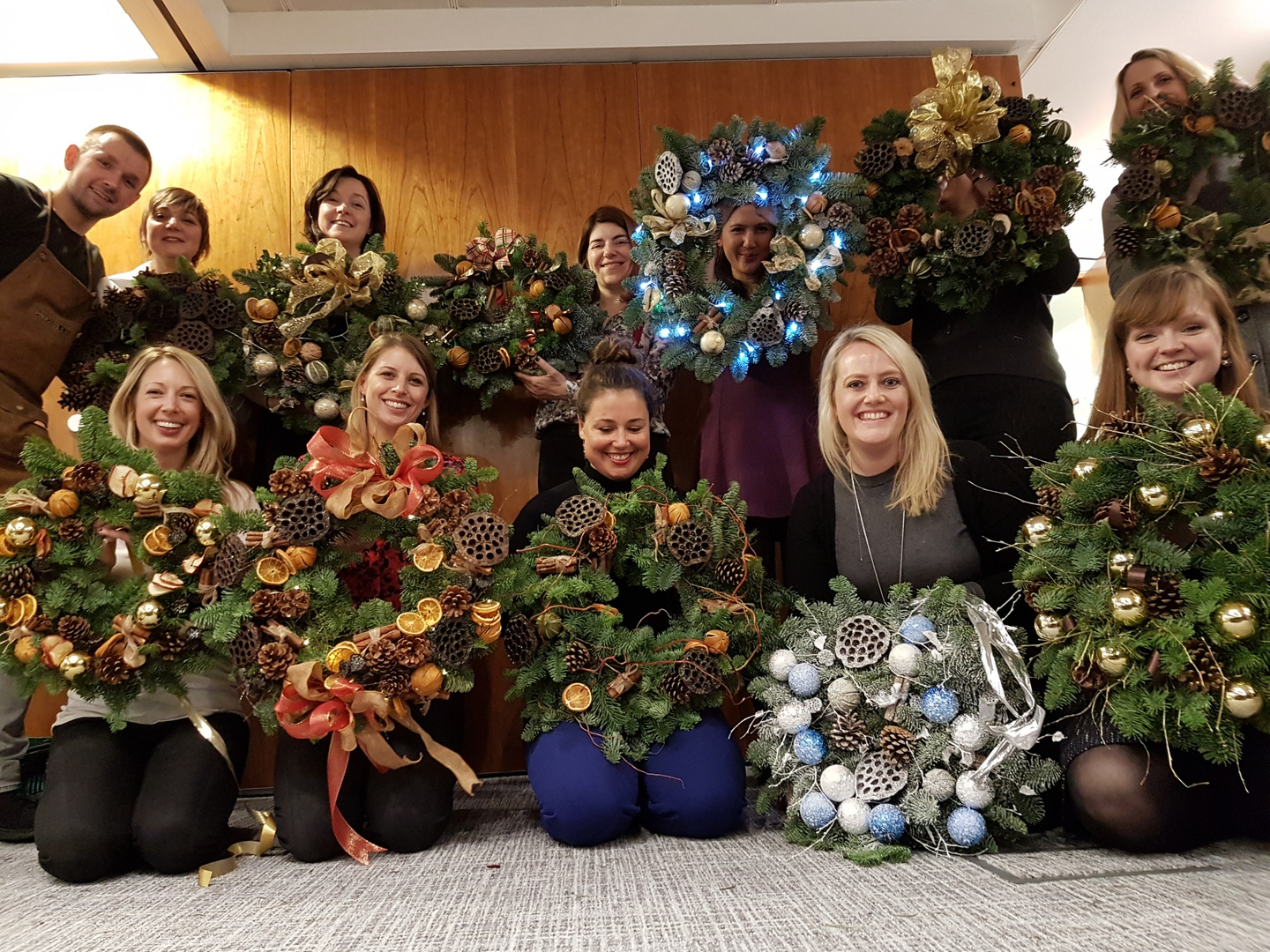 Christmas Wreath Classes