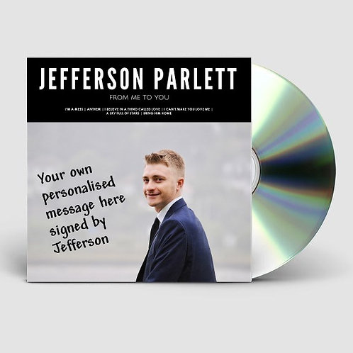 From Me to You - Debut EP (Signed CD + Optional Personalised Message)