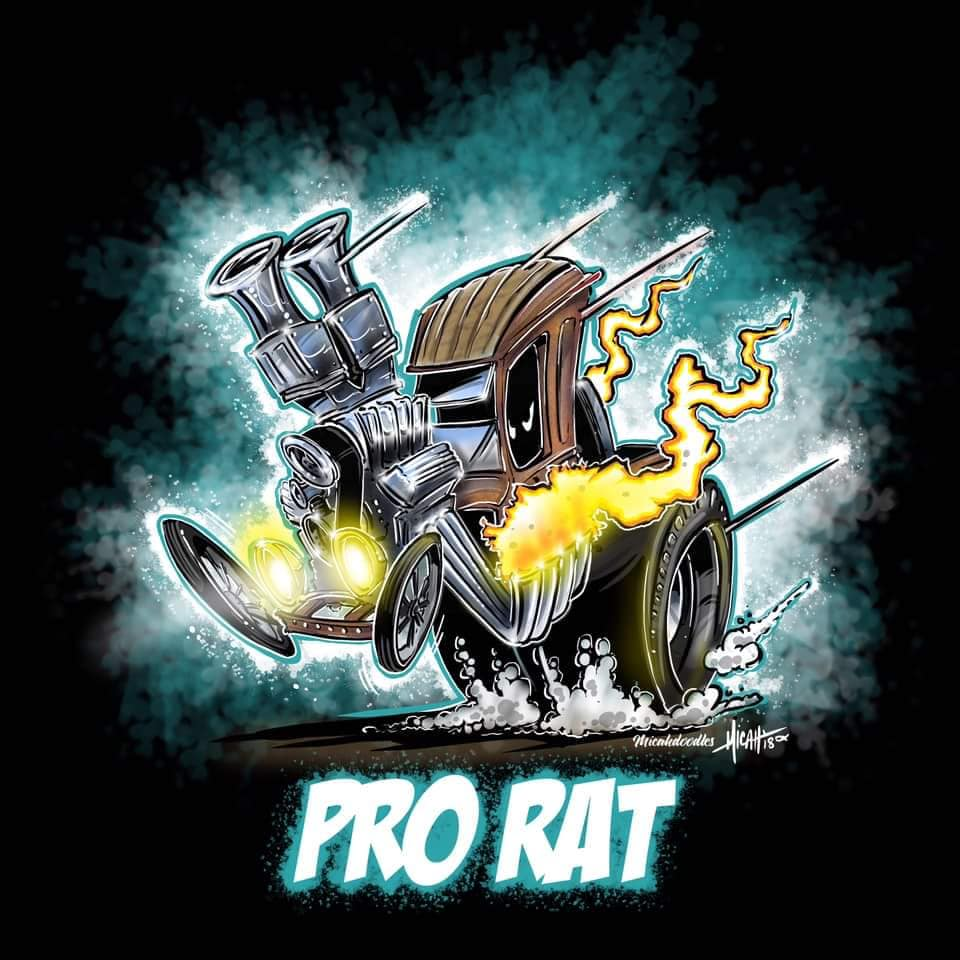 2019 Cat House Customs Pro Rat Cartoon