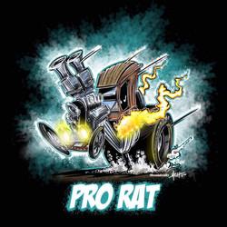 2019 Cat House Customs Pro Rat Cartoon