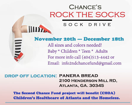 Chance's Rock the Socks Sock Drive