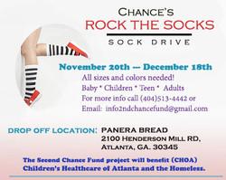 Chance's Rock the Socks Sock Drive