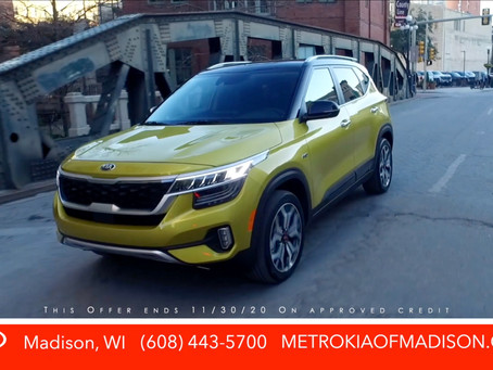 2021 Kia Seltos .9% Financing Available Now!