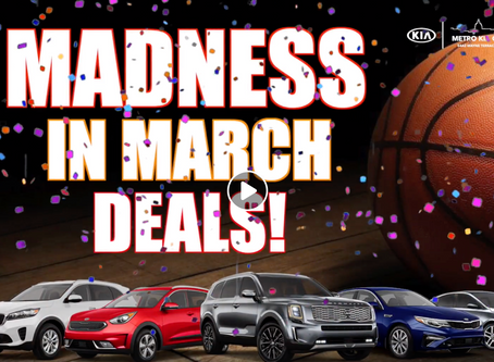 #MetroKiaOfMadison #MadnessInMarch #Deals