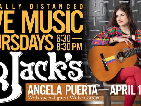 Live Music @BBJacksCG - 4/1/21